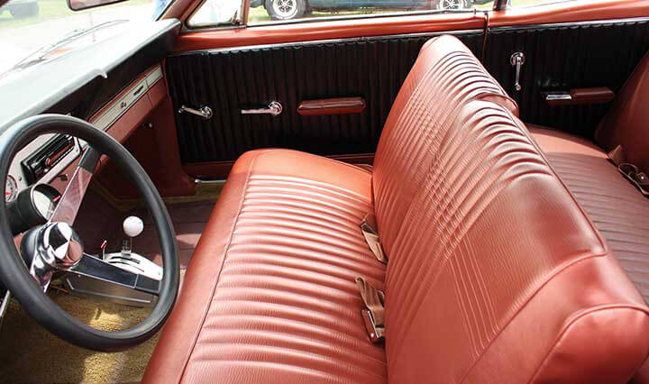 1963 67 FORD FAIRLANE SEAT UPHOLSTERY