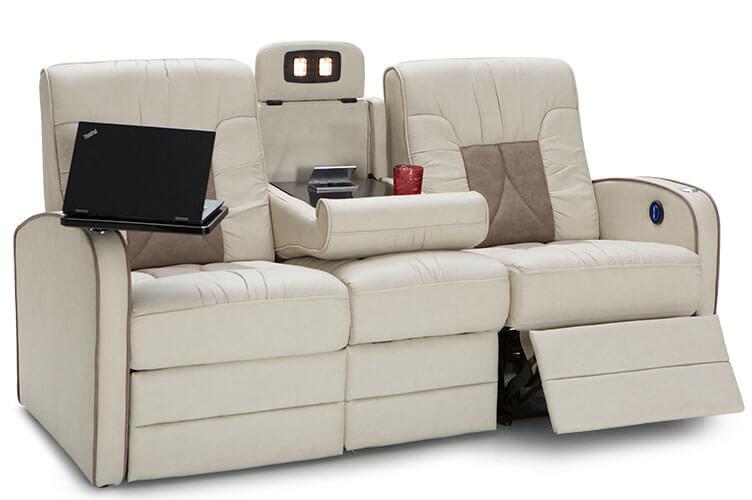 De Leon Rv Double Recliner Sofa Rv Furniture