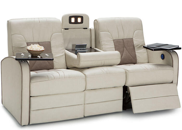 De Leon Rv Double Recliner Sofa Rv Furniture Shop4seats Com