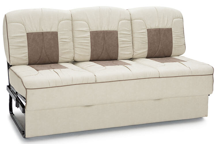 Consulate rv furniture package rv seating for Sofa bed 74 inches