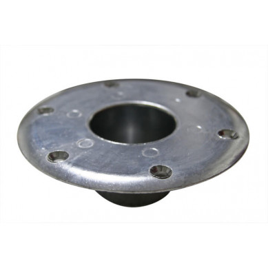 Round Recessed Pedestal Mount (Top View)