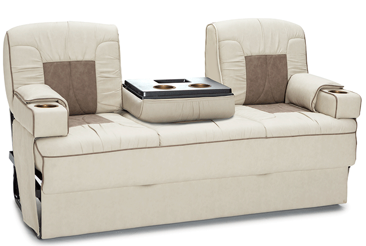 Sofa bed for rv rv sofas glastop motorhome furniture for Rv furniture