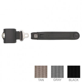 2 Pt. Retractable Short Seat Belt