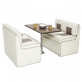 Qualitex Livingston RV Dinette Fabric Furniture