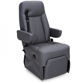 Ethos Integrated Seatbelt Powered Recline Captain Chairs for RV