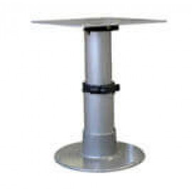 This Heavy-Duty Table Pedestal Features Internal Opposing Gas Cylinders