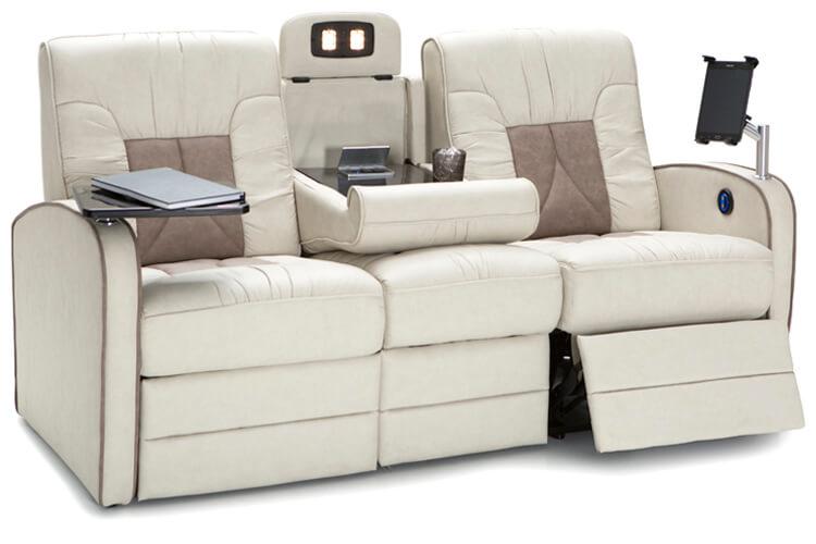 Qualitex De Leon Rv Recliner Sofa, Sofas With Recliners
