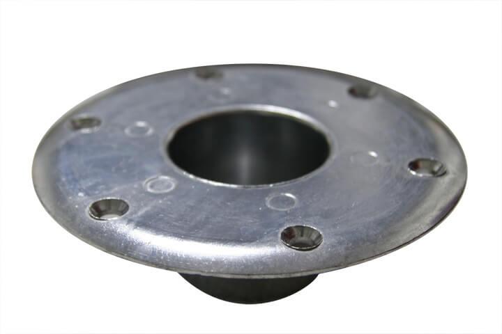 Round Recessed Mount Pedestal Base Rv Dinette Hardware