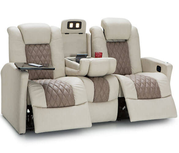 Best Sofa Bed For Rv: Monument RV Double Recliner Sofa, RV Furniture