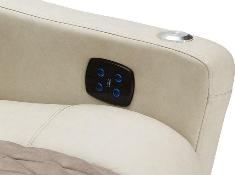 Qualitex Monument Rv Double Recliner Sofa Rv Furniture