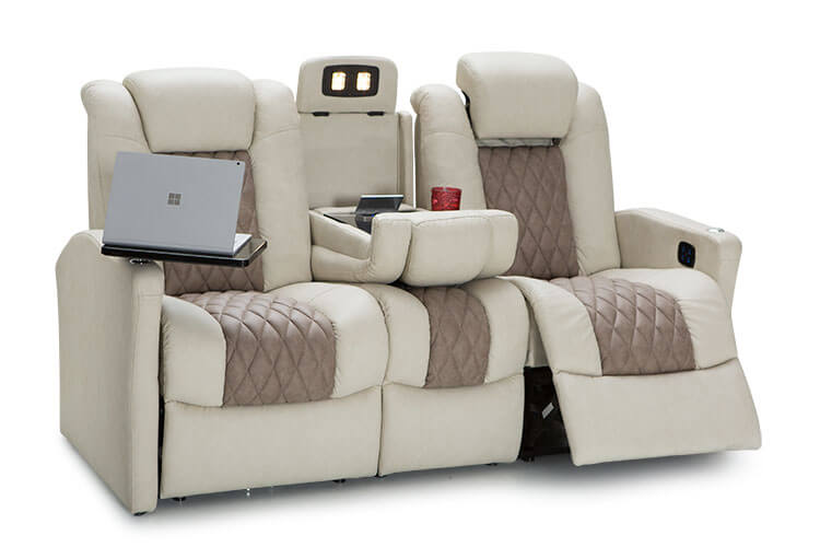 Double Recliner Sofa Marvelous With