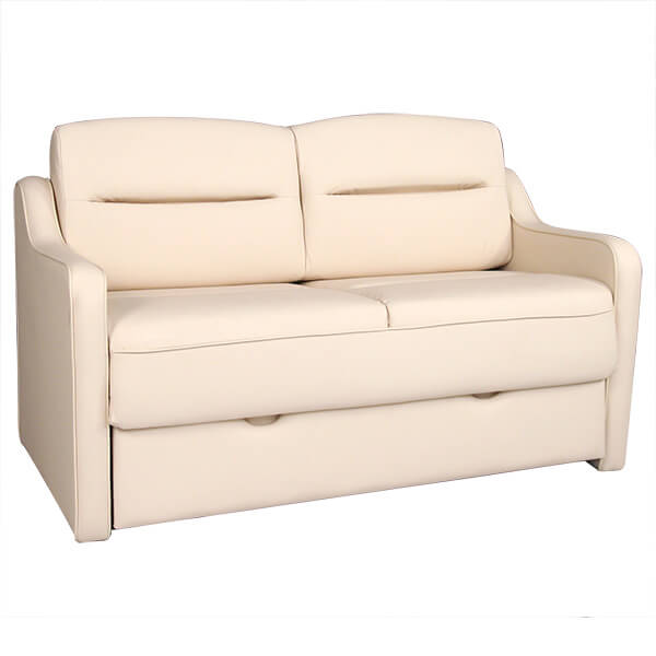 Frontier ii rv loveseat sofa bed rv furniture for Rv furniture