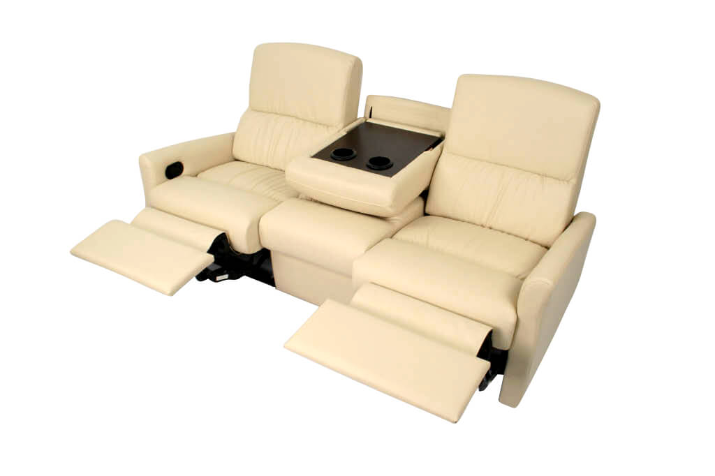 Monaco Double RV Recliner Loveseat, RV Furniture - Shop4Seats.com