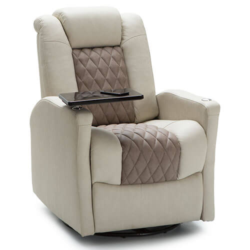 Rv Chairs Recliners >> Qualitex Monument Swivel Recliner Rv Seating Rv Furniture