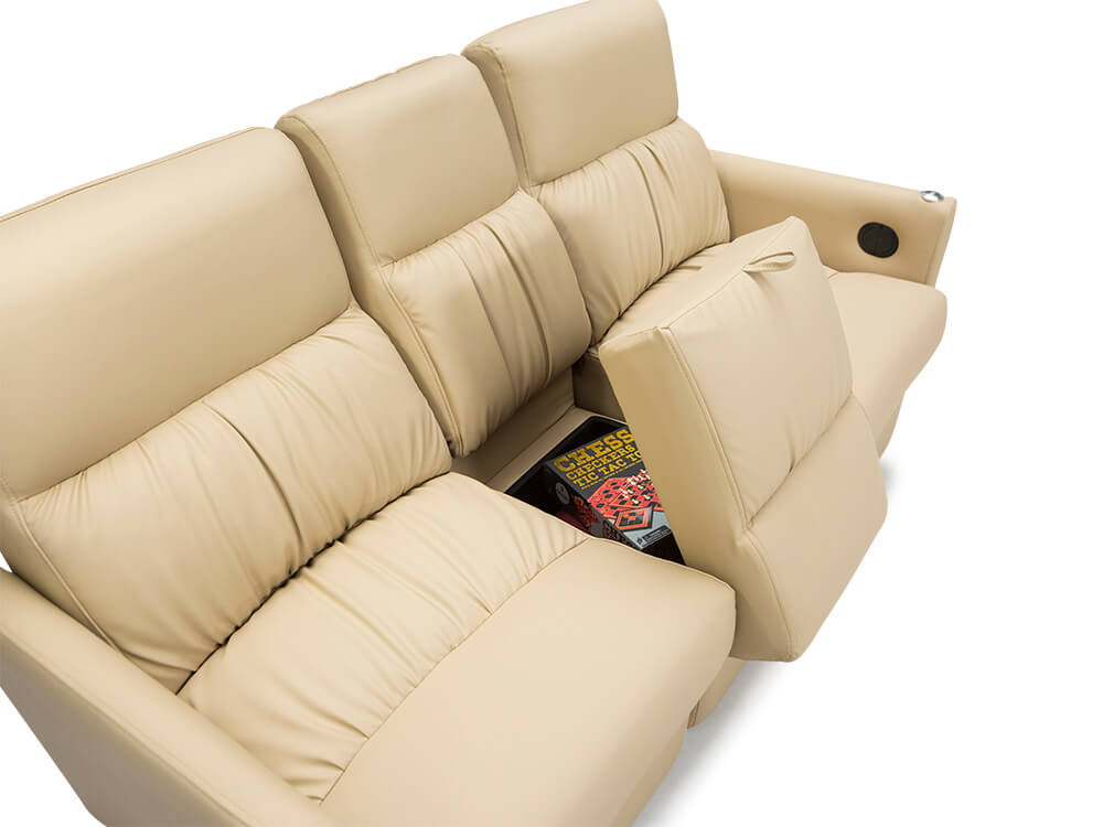Qualitex Monaco Double Rv Recliner Loveseat Rv Furniture
