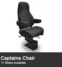 Commercial Vehicle Captain Chairs
