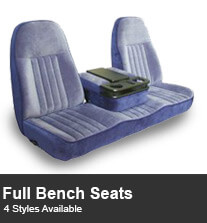 Full Bench Truck Seating