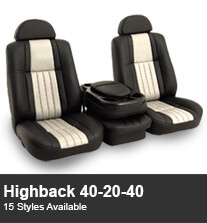 Highback 40-20-40 Truck Seating