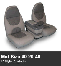 Midsize 40-20-40 Truck Seating