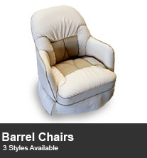RV Barrel Chairs