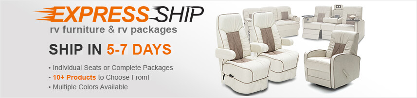 Enjoy the Shop4Seats RV Furniture Exclusive Express Ship Experience