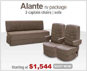 Alante RV Seats Package